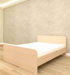 Кровать» Ксения» ( миланский орех) 160*2