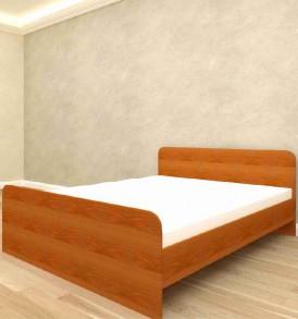 Кровать» Ксения» ( дуб млечный) 1400*1900