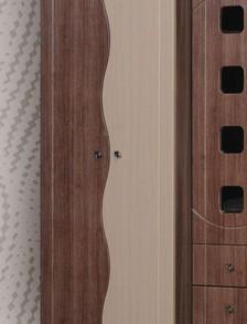 Шкаф 2-х дверный «Омега» (венге/клен)