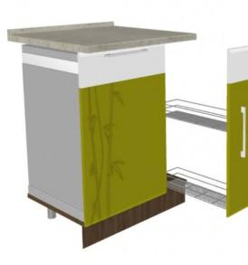 Панель для посудомоечной машины 60 Тропикан 17..