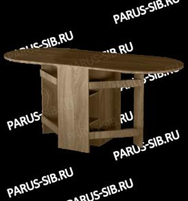Стол  раскладной «Ушастик»( ольха)