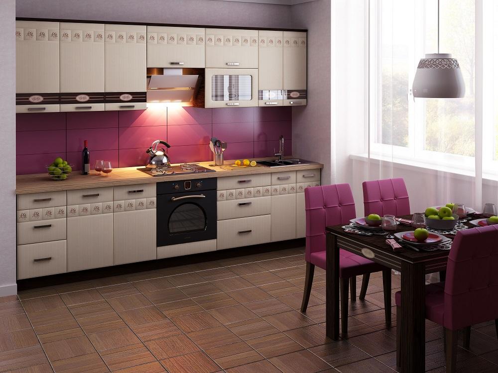 "Кухня ""Аврора-10""  300x60"