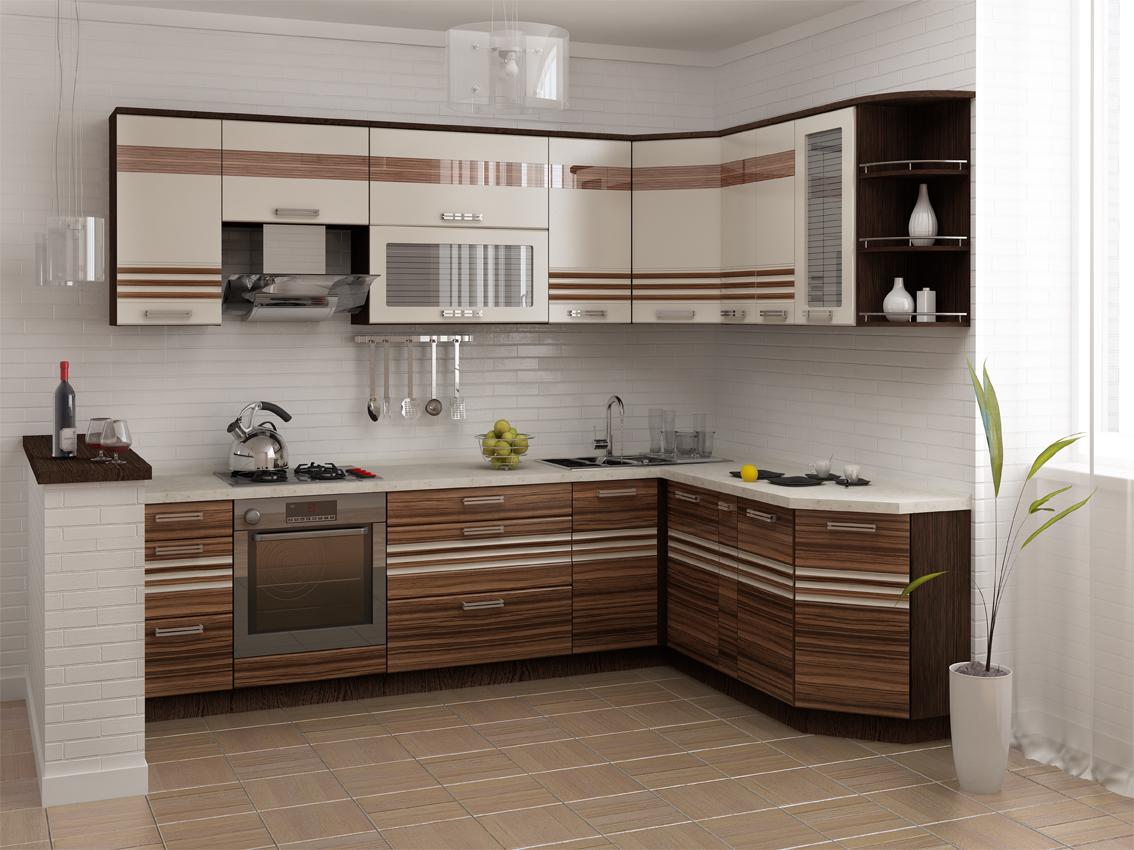 Кухня РИО 16 (280х190, без мойки)