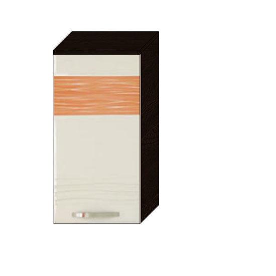 Шкаф 40 (левый) Оранж-9 ВИТРА