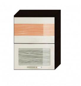Шкаф-витрина 60 с подъёмником Оранж-9 ВИТРА