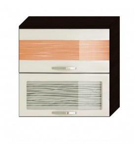Шкаф-витрина 80 Оранж-9 ВИТРА