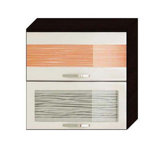 Шкаф-витрина 80 с подъёмником Оранж-9 ВИТРА