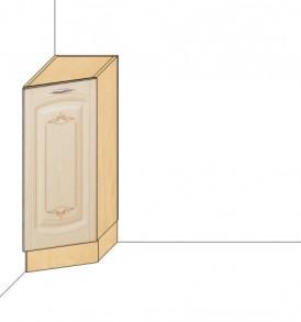 Стол 30 торцевой правый Глория-3 (без столешницы)