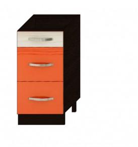 Стол 40 с 3-мя ящиками Оранж-9 ВИТРА