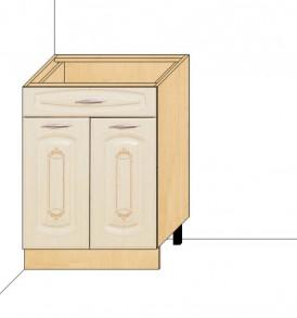 Стол 60 с ящиком Глория-3 (без столешницы)