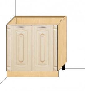 Стол 80 с колоннами Глория-3 (без столешницы)