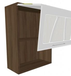Кухня Тропикана 17 Шкаф 60 витрина с плавным закрыванием дверей