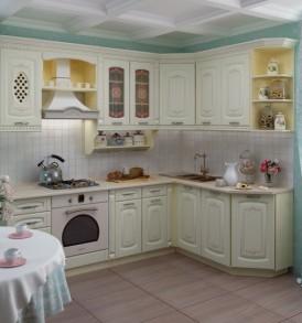 Кухня «Глория-3» Шкаф 40 витрина