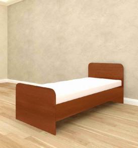Кровать «Ксения» 800×1900 ( венге)