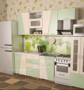 Кухня «Мираж 2 м» (МДФ)