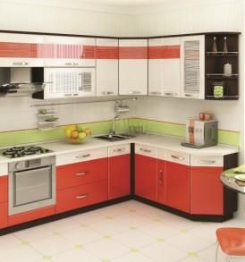 Кухня Оранж-9 Шкаф торцевой универсальный  ВИТРА