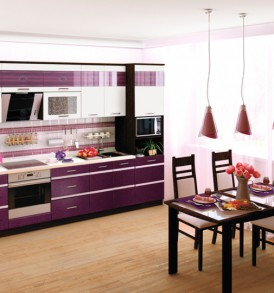 Кухня Палермо 8 Стол 300 торцевой (правый)