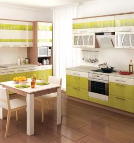 Кухня Тропикана 17 Стол 60 3 ящика с плавным закрыванием дверей
