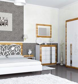 Спальня «Лотос» Шкаф 3х дверный