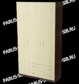 Шкаф  «Пегас-3″ (ясень шимо темный/ светлый)