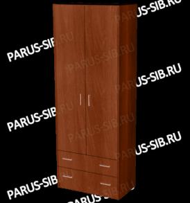 Шкаф «Пегас-2″ (венге/дуб)