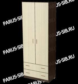 Шкаф «Пегас-2″ (орех)