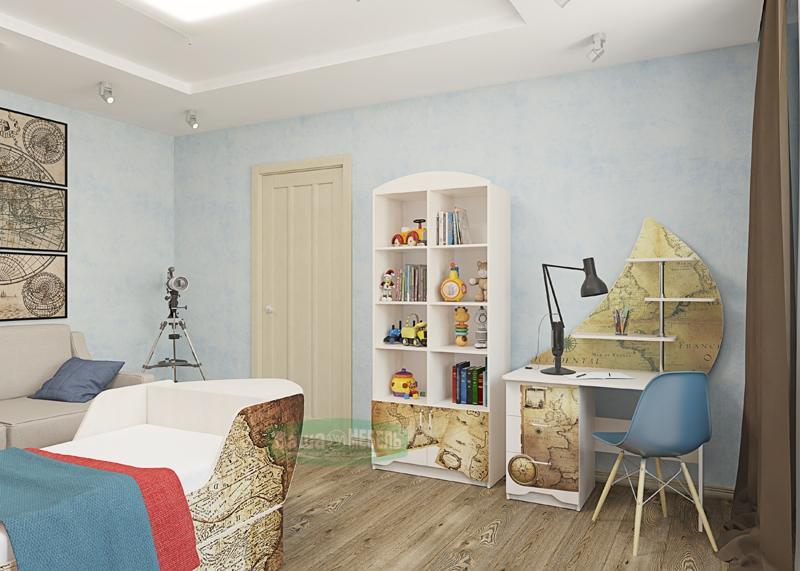 Набор мебели для детской  Набор «Корабль»