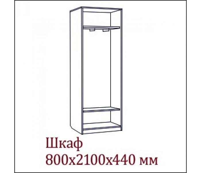 Спальня  «Эдем-2″ Шкаф 2х дверный