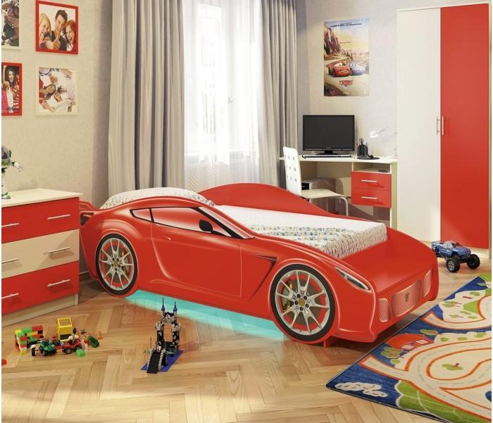 Кровать для детской  КР11 «Феррари»