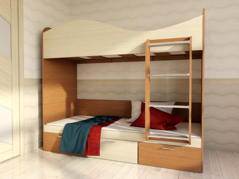 Кровать для детской  КР5