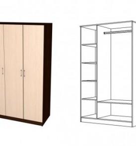 Шкаф «Юнона» 3х дверный