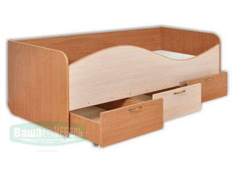 Кровать для детской  КР3 «Миньоны»