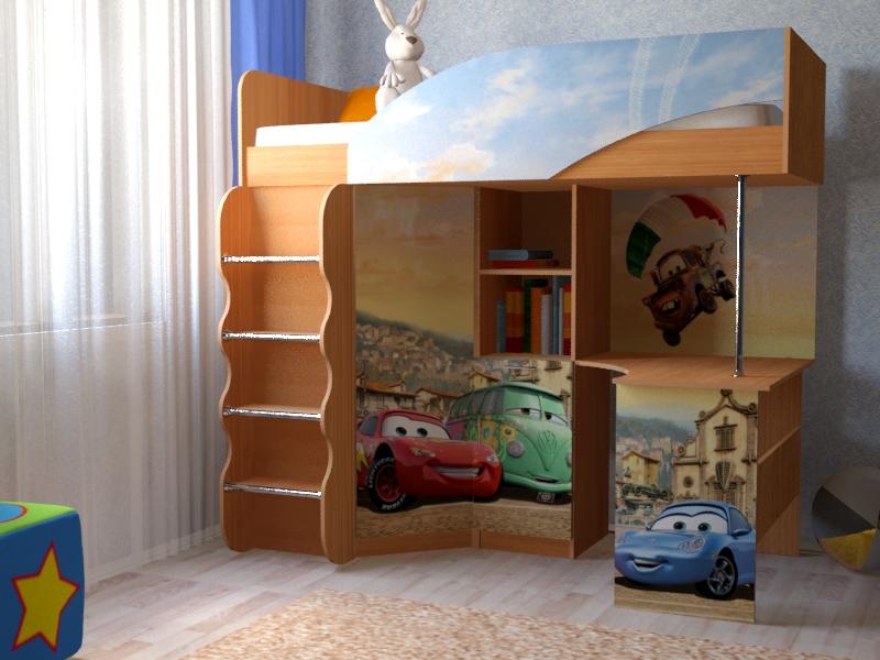 """Набор мебели для детской  Набор """"Тачки"""""""