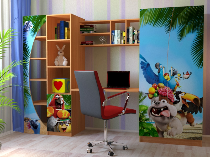 Набор мебели для детской  Набор «Рио»