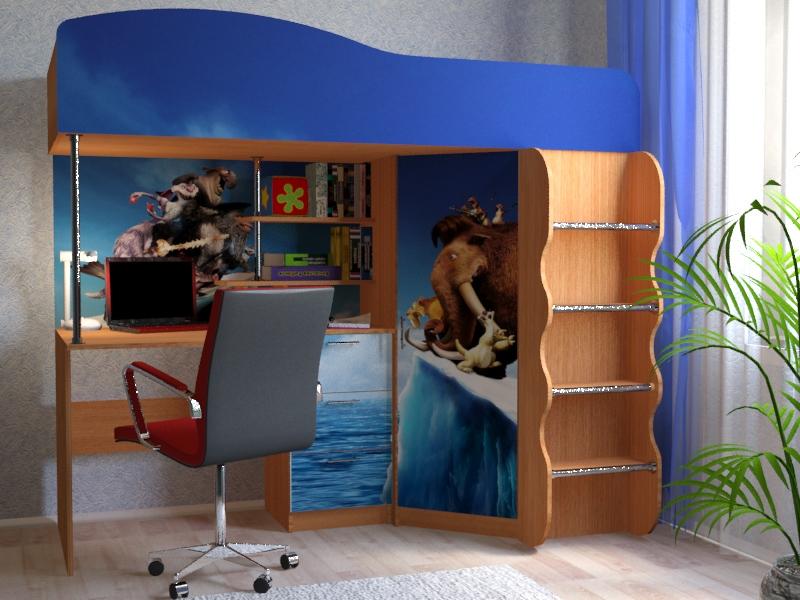 Набор мебели для детской  Набор «Ледниковый период»