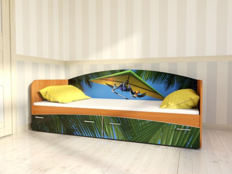 """Кровать для детской  КР1 """"Рио"""""""