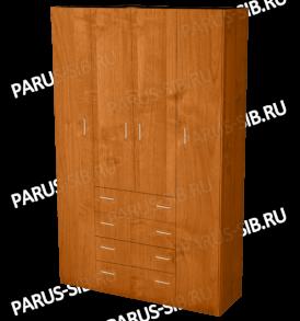 Шкаф  «Пегас-4″ (ясень шимо темный / светлый)