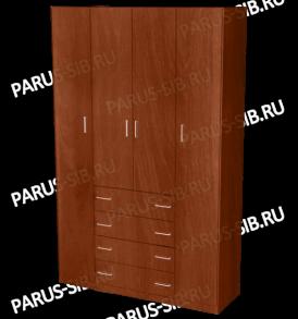 Шкаф  «Пегас-4″ (ольха)