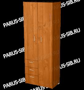 Шкаф «Пегас 6″ (орех)