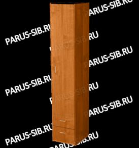 Пенал закрытый с ящиками (венге/дуб)