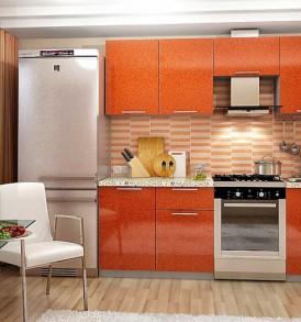 Кухня Премьера Шкаф 600 Газовка (металлик глянцевый)