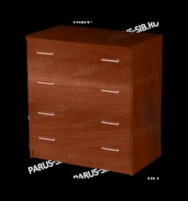 Комод» Яна» 4 ящика (орех)