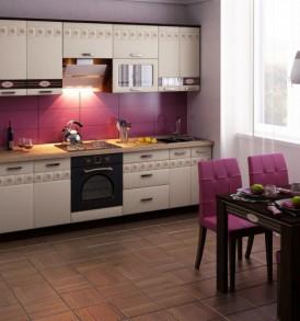 Кухня «Аврора-10″ Шкаф-витрина 60