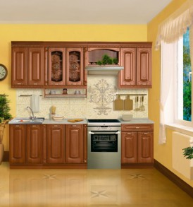 Кухня «Глория-6» Шкаф 30 торцевой универсальный
