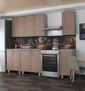 Кухня «Милана-1.50″(горизонтальная)