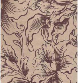 Диван  «Соло»  (беж. лилии) флок