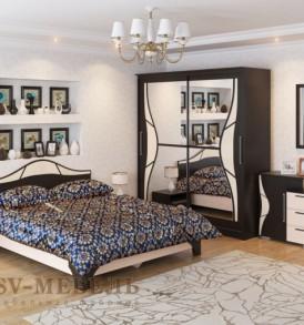 Спальня  «Лагуна-5″ Комод ( венге/дуб)