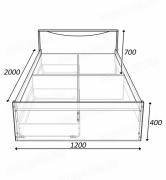 кровать соло 1200.схема