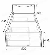 кровать соло 900 схема