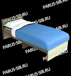 Кровать «Соло» — 800  (венге/дуб) без ящиков